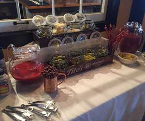 Bloody mary bar!